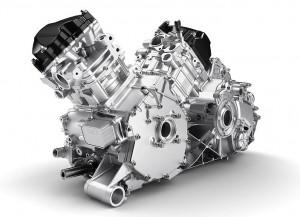 Der Rotax HD10 Zweizylinder Motor leistet 72 PS und viel Drehmoment in den unteren Drehzahlen zum Ziehen von schweren Lasten.